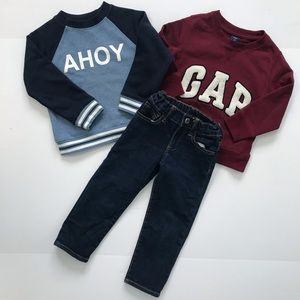 Gap, Janie and Jack, Sweater Pants boys size 3t